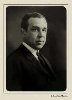 John Gresham Machen American theologian