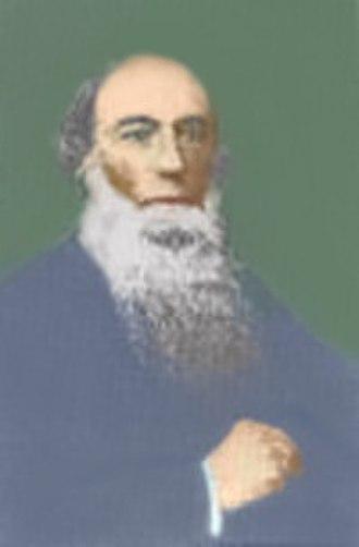 J. Stuart Russell - James Stuart Russell - Undated Photograph, colorized by Virgil Vaduva