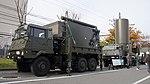 JASDF J TPS-102 Radar(SVP, 46-8406 & Antenna unit, 46-8392) left front view at Kasuga Air Base November 25, 2017.jpg