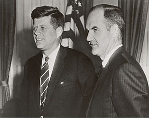 Food for Peace - George McGovern as Food for Peace director in 1961, with President John F. Kennedy