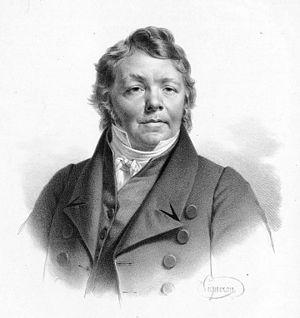 Johann Nepomuk Hummel - Portrait by Joseph Karl Stieler, 1820