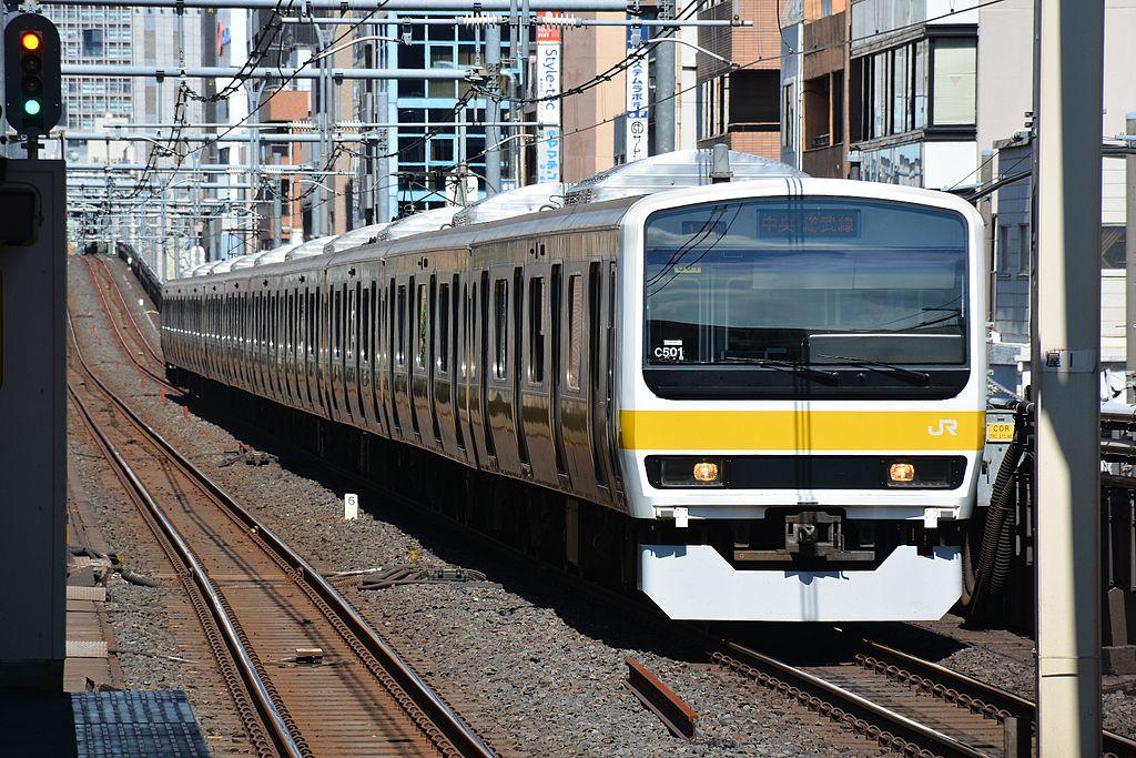 JR East 209-500 C501 Asakusabashi 2015-06-28