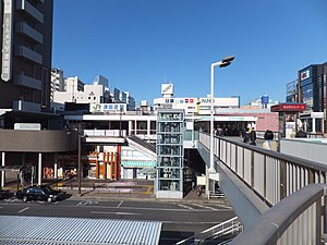 Narashino - Area around JR Tsudanuma Station