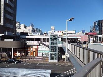 Narashino - Area around JR Tsudanuma Station