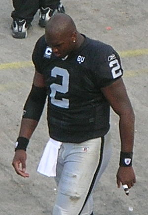 JaMarcus Russell - Russell with the Raiders in November 2008