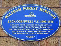 Jack cornwell (waltham forest heritage)
