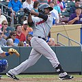 Jackie Bradley Jr, 2015 Triple-A All-Star Game.jpg
