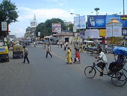 8B bus stand area