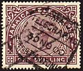 Jamaica telegraph stamp used Port Antonio 1900.jpg
