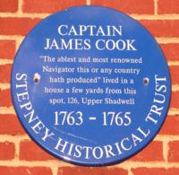 James Cook Blue Plaque