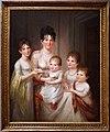 James peale, ritratto di madame dubocq e i suoi figli, 1807.jpg