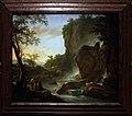 Jan both, paesaggio italiano con un artista che disegna dalla natura, utrecht 1645-50 ca.jpg