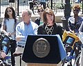 Janette speaks at Citi Bike opener jeh.jpg