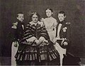 Januária, Princess Imperial of Brazil and Countess of Aquila with her children.jpg