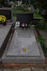 Janusz Szpotański (grób).JPG