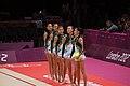 Japan Rhythmic gymnastics at the 2012 Summer Olympics (7915435704).jpg