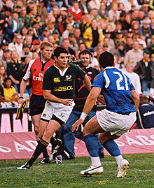 Description de l'image Jaque Fourie against Samoa.jpg.