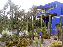 Jardin majorelle wikipedia for Jardin hispano mauresque