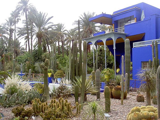 Jardin majorelle parc et zoo marrakech maroc guide de for Jardin ysl marrakech