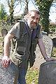 Jaroslav Achab Haidler, Jewish cemetery in Sobědruhy 01.JPG