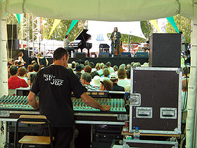 Festival Jazz in Marciac, 2005.