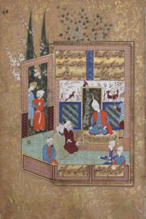 Mirza Salman Jaberi Iranian poet