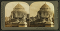 Jefferson's Statue and Ffestival Hall, Louisiana Purchase Exposition, St. Louis, from Robert N. Dennis collection of stereoscopic views.png