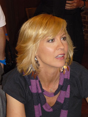 English: The Comedy actress Jenna Elfman in Oc...
