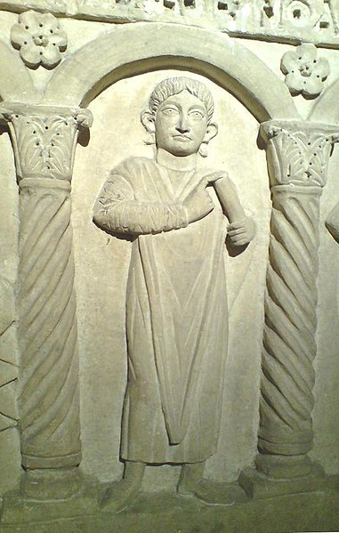 Αρχείο:Jesus Christ 5th cent Sarcophagus Istanbul Museum.JPG