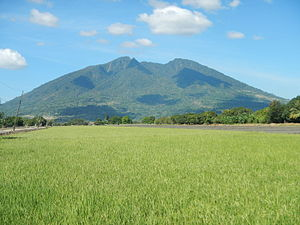 Mount Arayat - Mount Arayat as seen from the village of Kaledian (Camba) in Arayat municipality