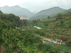 Jinxi Creek Valley west of Xiaoxi Town