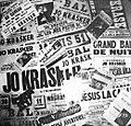 Jo Krasker, dépliant publicitaire, 1962.jpg
