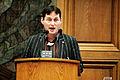 Johan Lund Olsen (IA) talar under Nordiska radets session i Kopenhamn 2006.jpg