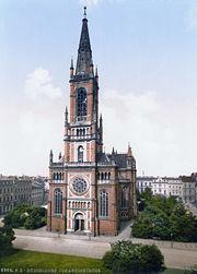Johanneskirche um 1900