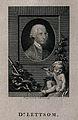 John Coakley Lettsom. Line engraving by T. Holloway, 1787. Wellcome V0003521.jpg