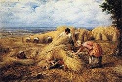 John Linnell: Cornfield Cradle