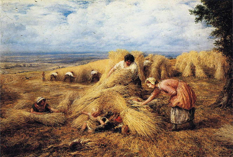 File:John Linnell - The Harvest Cradle.JPG