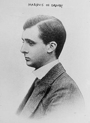 John Manners, 9th Duke of Rutland - The Duke of Rutland, then Marquess of Granby, in 1914