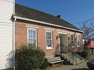 Freeport, Ohio - The John Reaves House in Freeport is listed on the National Register of Historic Places