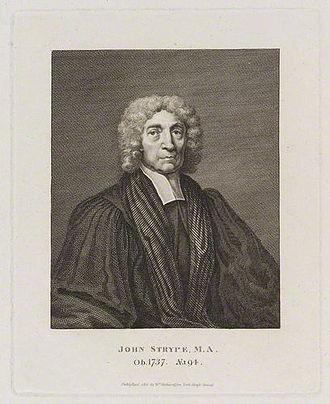 John Strype - John Strype, engraving by William Richardson.