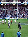 Johnny Wilkinson about to score the last points of the Scotland versus England 6 nations martch 2008.jpg