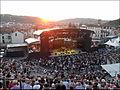 Johnny Winter au théâtre anitique de Vienne en juillet 2013.JPG