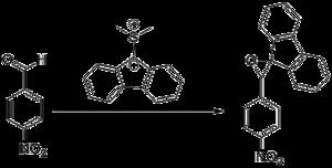 Johnson–Corey–Chaykovsky reaction - The first example of the Johnson–Corey–Chaykovsky reaction
