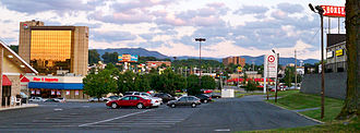 Johnson City, Tennessee - View of midtown Johnson City