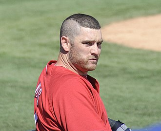 Jonny Gomes - Gomes during his tenure with the Cincinnati Reds in 2010