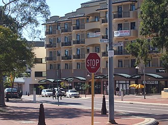 Joondalup (suburb) - Davidson Terrace, Joondalup
