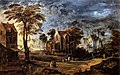 Joos de Momper (II) - Village at Full Moon - WGA16138.jpg