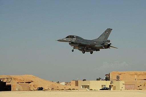 Jordanian F-16, Muwaffaq Salti Air Base