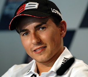 English: Jorge Lorenzo 2010 Indianapolis
