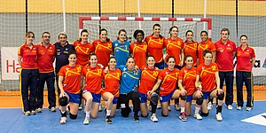 Spain women's national handball team - National team in 2013
